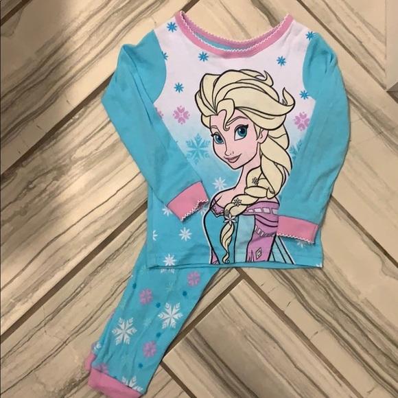 Frozen 2 Piece Pajama Set - New 2T